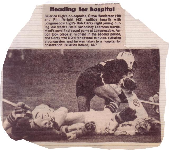 1977 Semi Final vs. Longmeadow (two billerica kids put the kid in hospital)